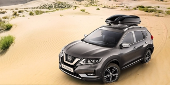 X-Trail with Roof Box
